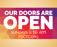 Join Us Sundays at 10 am